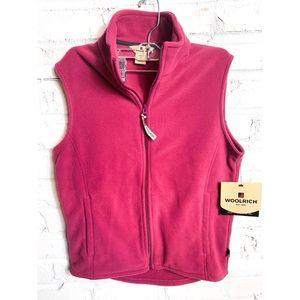 Woolrich Andes Fleece Berry Vest